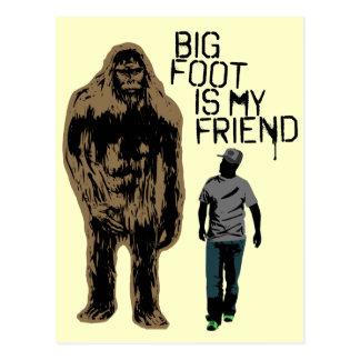 Bigfoot är min vän vykort