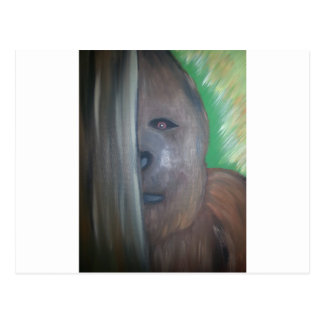 Bigfoot bak tree.jpg vykort