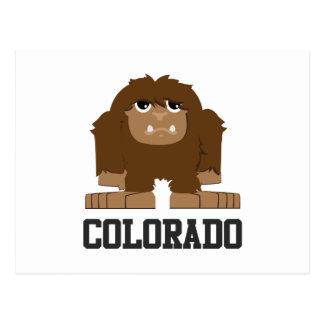 Bigfoot Colorado Vykort