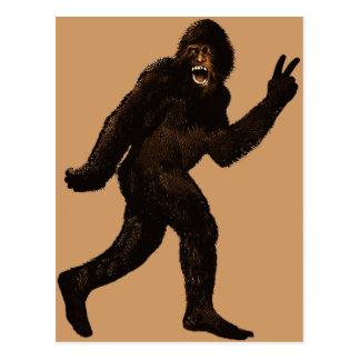Bigfoot fred vykort