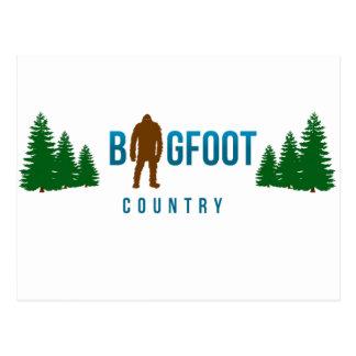 Bigfoot land vykort