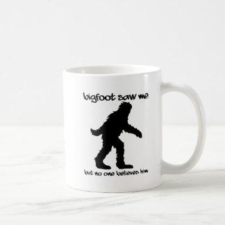 Bigfoot sågar mig den roliga muggen kaffemugg
