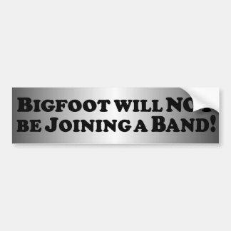 Bigfoot ska för att inte gå med ett grundläggande  bildekal