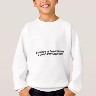 Bigfoot söker efter en grundläggande bra Groomer - T-shirts