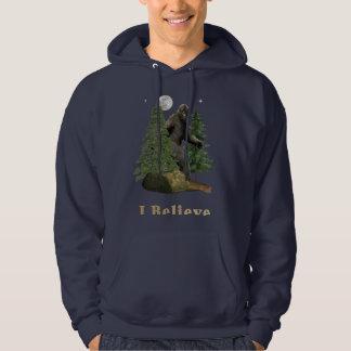 Bigfoot t-skjortor hoodie