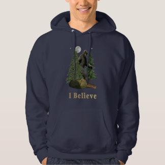 Bigfoot t-skjortor tröja med luva