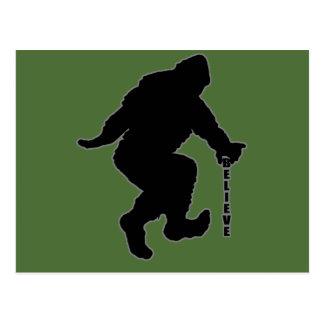 Bigfoot tro bg vykort