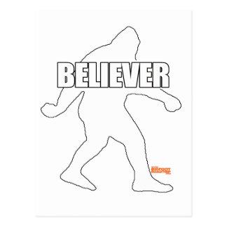 Bigfoot troende vykort
