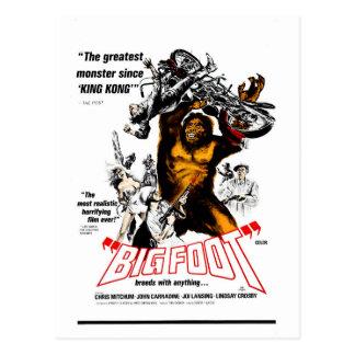 Bigfoot! Vykort