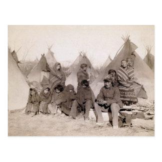 Bigfoots musikband vykort