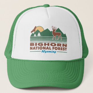 Bighorn nationalskog Wyoming Keps