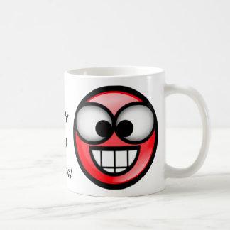BigSmile-Rött Kaffemugg