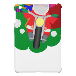 Biker Santa iPad Mini Mobil Skal