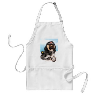 Bikermopshund Förkläde