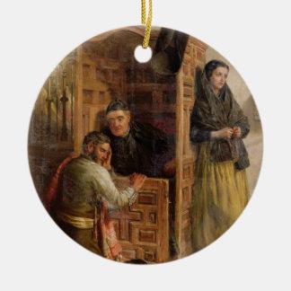 Bikt 1862 (olja på kanfas) julgranskulor