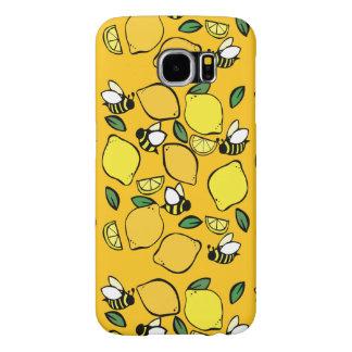 BikupaLemonademönster Samsung Galaxy S6 Fodral