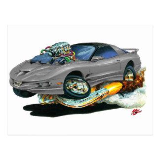 Bil 1993-97 för trans.-förmiddaggrå färg vykort