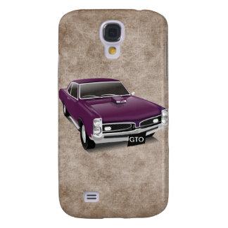 Bil 3G/3GS för lilor GTO för roligt kall Galaxy S4 Fodral