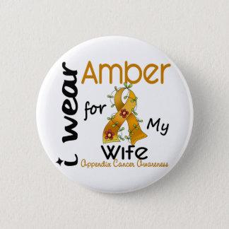Bilagacancer ha på sig jag bärnsten för min fru 43 standard knapp rund 5.7 cm