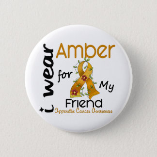 Bilagacancer ha på sig jag bärnsten för min vän 43 standard knapp rund 5.7 cm