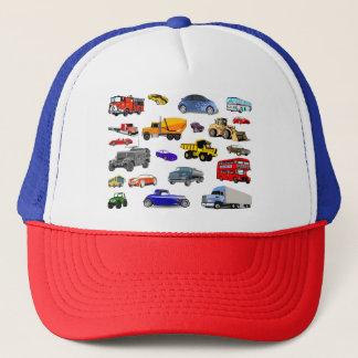 bilar för tävling för buss för bulldozer för truckerkeps