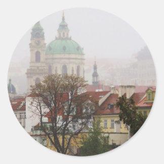 Bild av Prague Runt Klistermärke