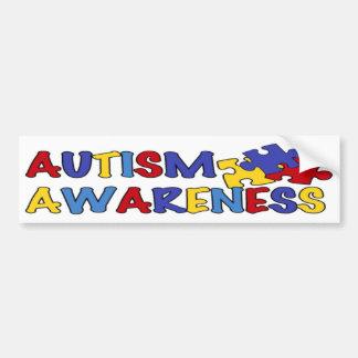 Bildekal för Autismmedvetenhetpussel