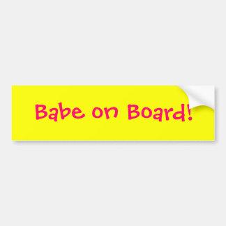 Bildekal för Babe ombord