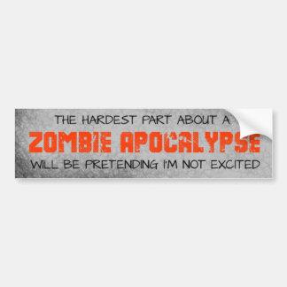 Bildekal för del för Zombieapokalyps mest hård