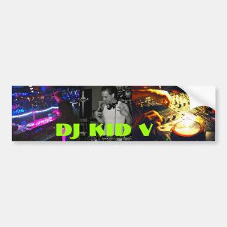 Bildekal för DJ-unge V