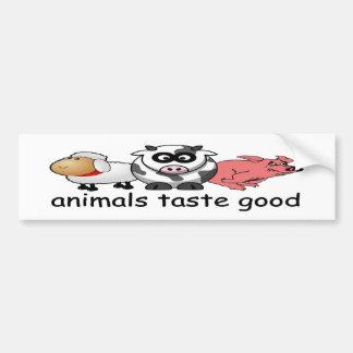 bildekal för eater för kött för djursmak bra rolig