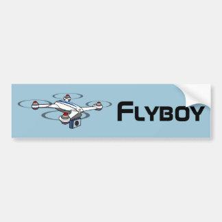bildekal för flyboyquadcoptersurr