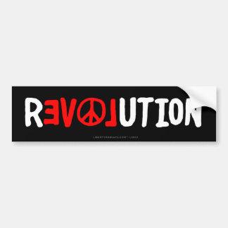Bildekal för fredkärlekrevolution
