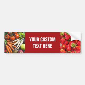 Bildekal för frukter & för Veggies (eller DINA