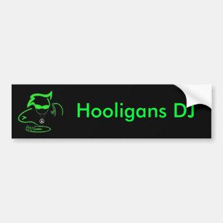 Bildekal för huliganDJ-logotyp