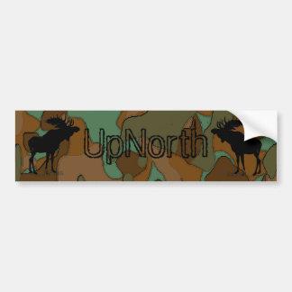 Bildekal för kamouflage för UpNorth älgSilhouette