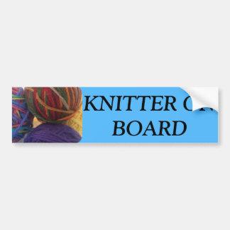Bildekal för Knitter ombord