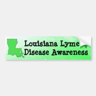 Bildekal för Louisiana Lyme sjukdommedvetenhet