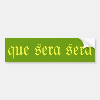 """Bildekal """"för Que SeraSera"""""""