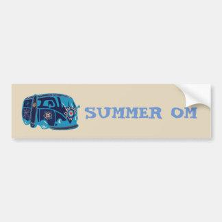 Bildekal för skåpbil för sommarOm-Hippie
