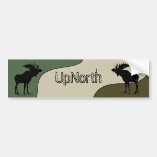 Bildekal för UpNorth älgSilhouette