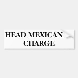 Bildekal H.M.I.C - Head mexikan i laddning