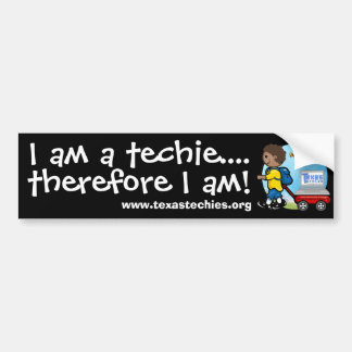 Bildekal - I-förmiddag en techie
