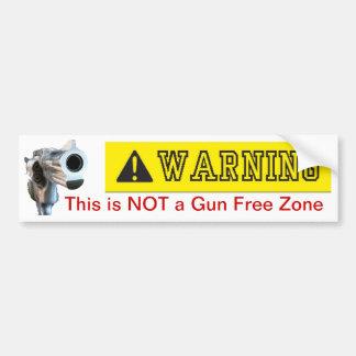 Bildekal: Inte ett vapen frigör zon Bildekal