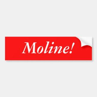Bildekal: Moline!