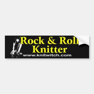 Bildekal - sten - och - rullKnitter