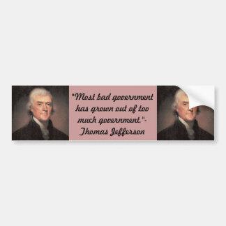 Bildekal: Thomas Jefferson Bildekal
