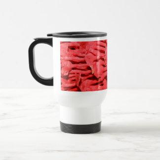 Bilden av det röda organ leda i rör Coral. Resemugg