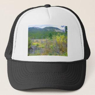 Bilden av en Wyoming äng skrivev ut av dräkt, Keps