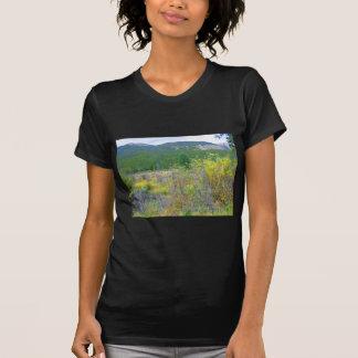 Bilden av en Wyoming äng skrivev ut av dräkt, Tee Shirt